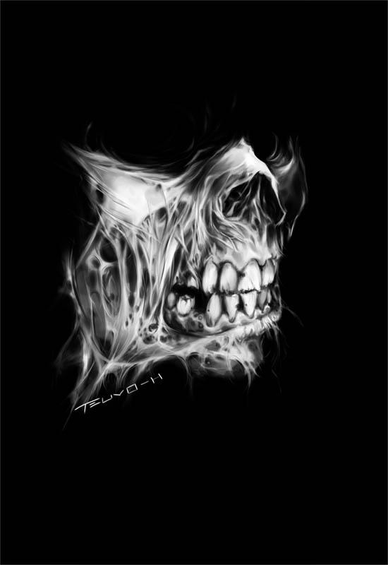 paleface by shambolic-art