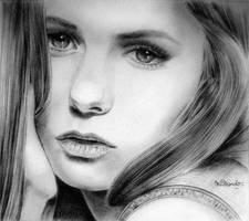 Nina Dobrev by BlueZest
