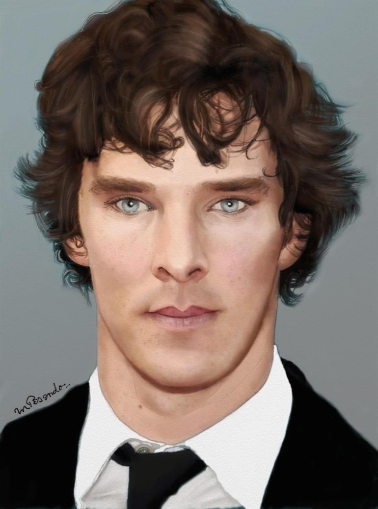 Benedict Cumberbatch - Sherlock Holmes by BlueZest