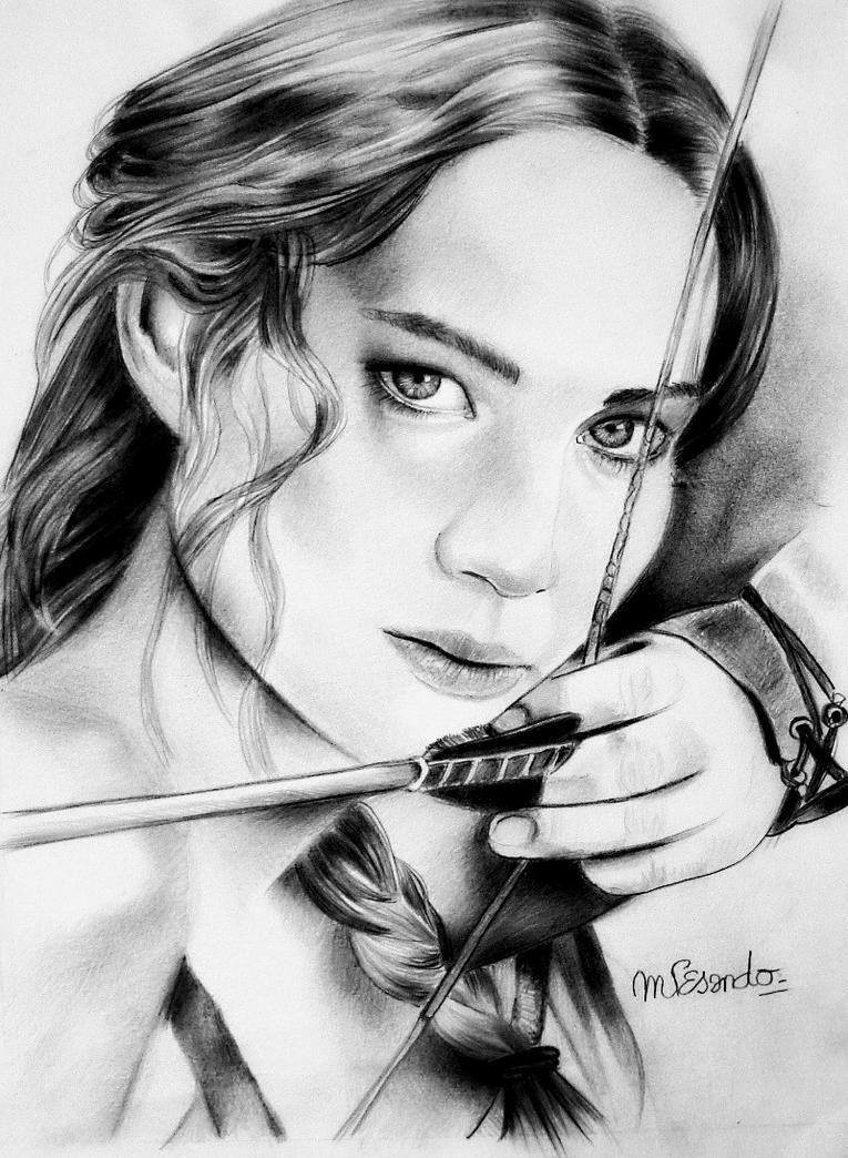 Katniss Everdeen by BlueZest