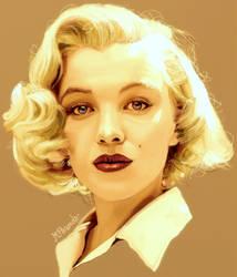 Marilyn Monroe by BlueZest