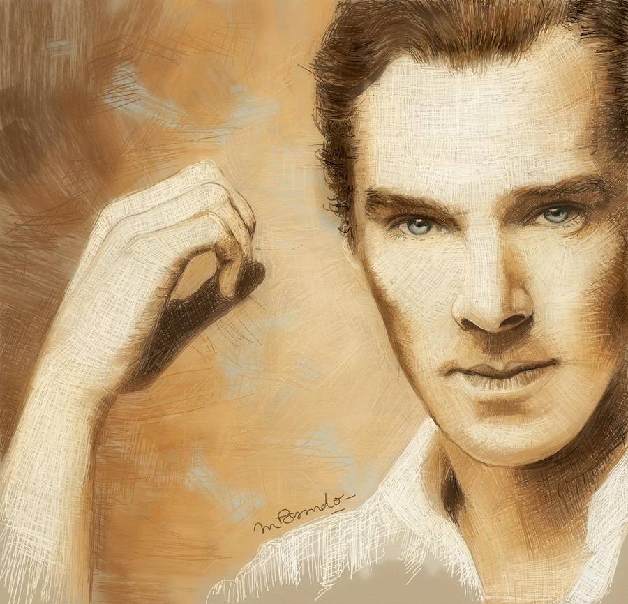 Benedict Cumberbatch - 02 by BlueZest