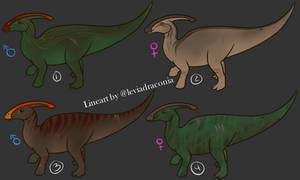 Parasaur Adopts   OPEN