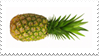 pineapple stamp by Gullacass