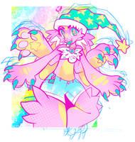 pink pawz by Gullacass