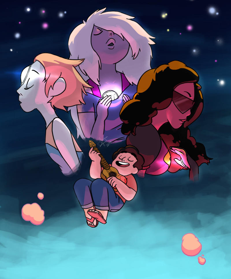 Steven Universe, everybody! Rebecca Sugar's new TV series that's most probably gonna air this year on CN. Oh, God, I'm hoping it's gonna be better than Adventure Time. It looks promising. Here's wh...
