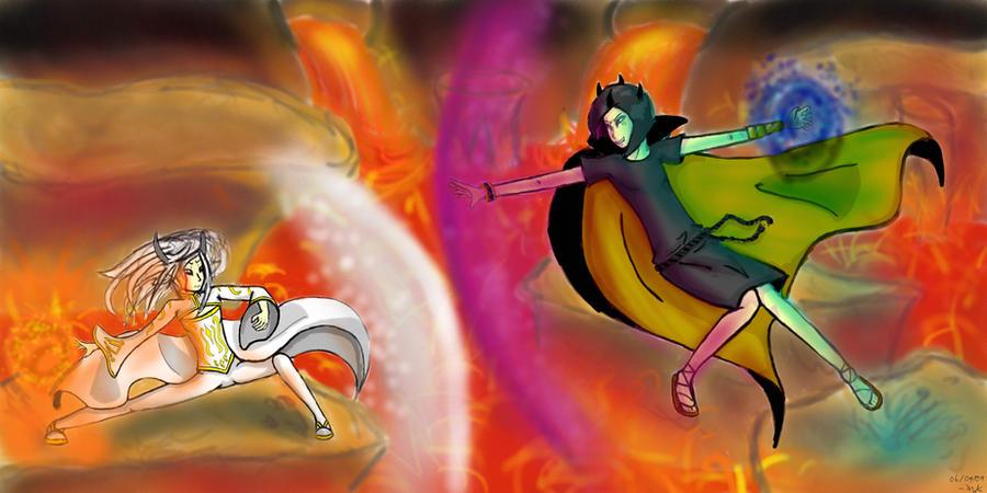 Azathoth Vs Cthulhu Azathoth vs Nyarlathot...