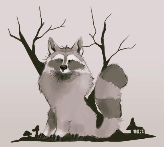 Des dessins, des dessins partout ! Mister_raccoon_inc__by_vawpire-dag93kr