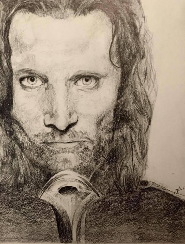 Des dessins, des dessins partout ! Aragorn_by_vawpire-dbberf9