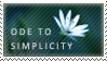 Ode to simplicity stamp 03 by teyasaveleva