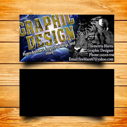 Business Card Design for myself by m0osegirlhunter