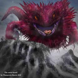 The snow lizard by m0osegirlhunter