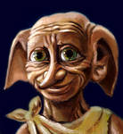 Dobby the house-elf by HoneyBees987