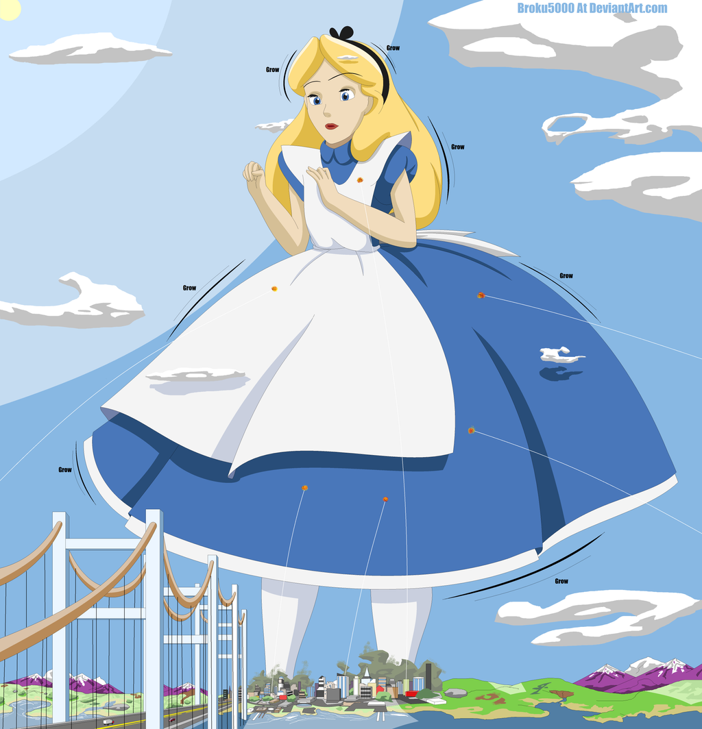 Alice In Wonderland 1951 Fanpop: Alice In Wonderland Parachute Dress Pictures To Pin On