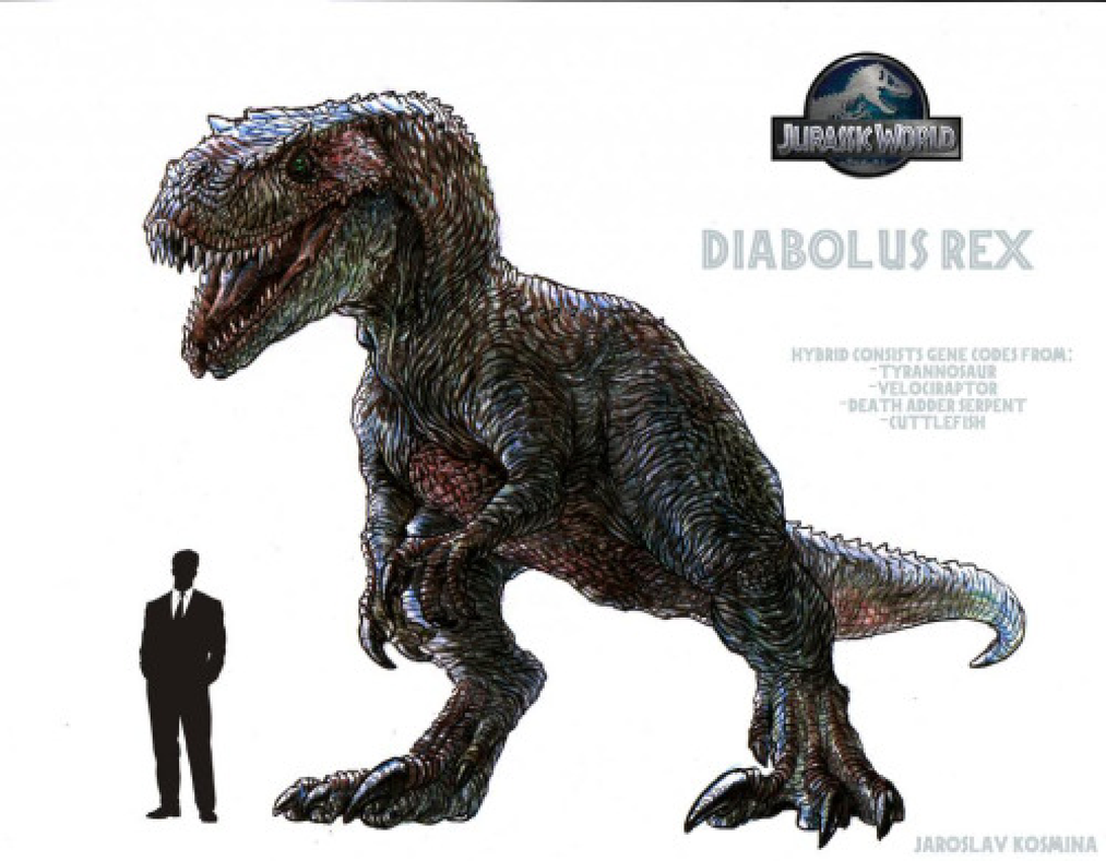 Indominous Rex 2 by broku5000