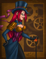 steampunk'd by enigmawing