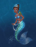 The Mermaid and the Frog by enigmawing