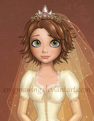 Short Hair Detail by enigmawing