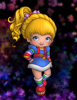 that one rainbow girl