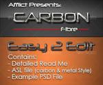 Carbonfibre Photoshop Styles