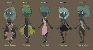 Tiish Pearl Outfits
