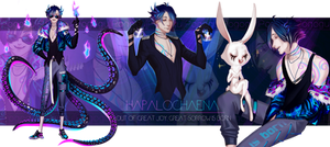 Auction Adoptable - The Hapalochlaena[OPEN] by pogogu