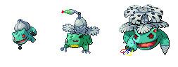 Robotic Pokemon # 1,2,3 by Psybreon