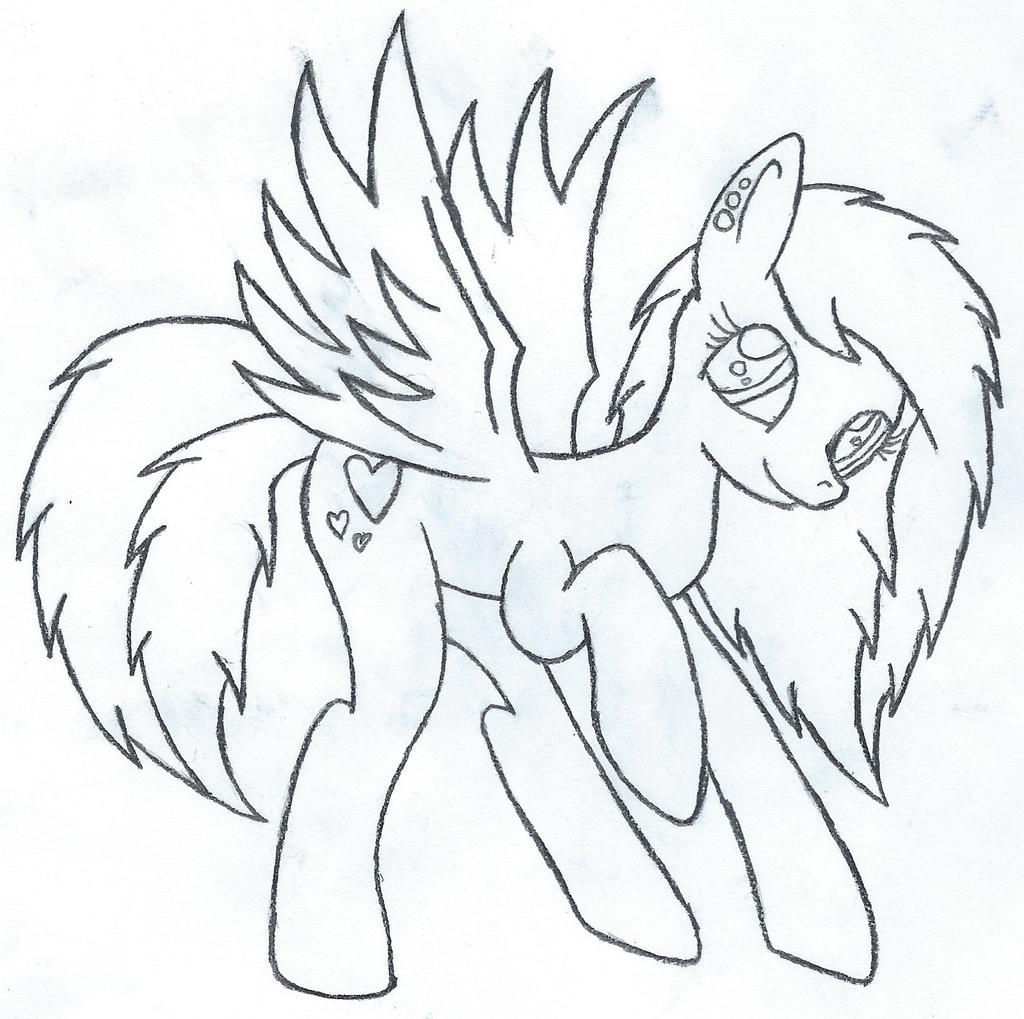 Cinnamon Sketch Outline by Psybreon