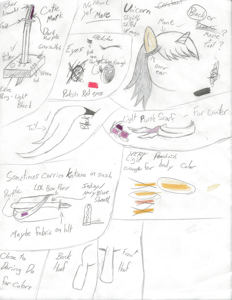 My Pony OC - Zephyr Lily by Psybreon