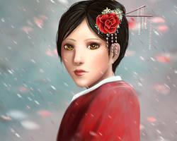 Mulan by RedrinArt