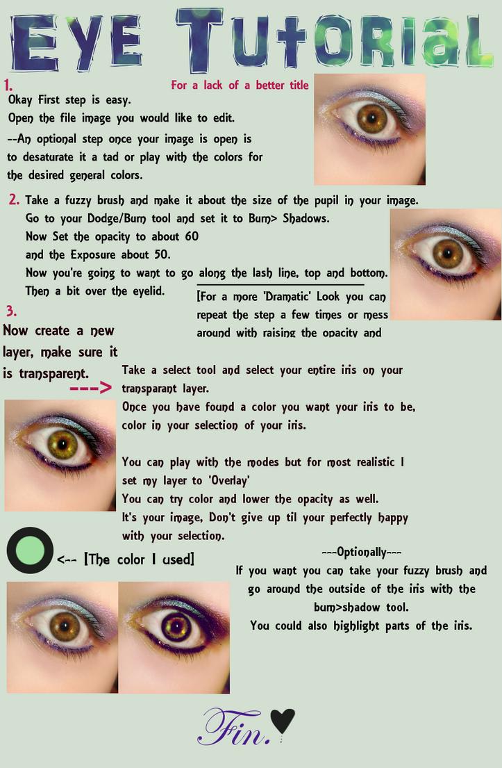 Eye Manip Tutorial by MyLastBlkRose