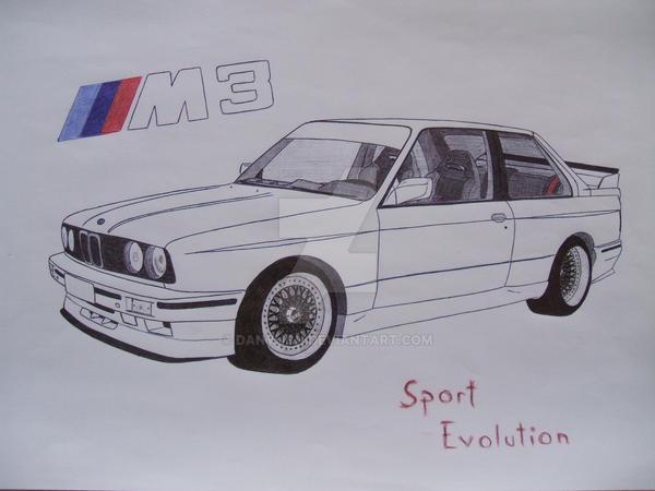 Bmw M3 E30 Sport Evo By Danynch On Deviantart
