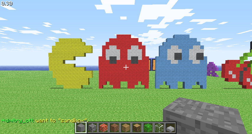 Minecraft Pac-man By DaveSX On DeviantArt