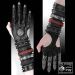 Kotomask glove for Genesis 3 and 8 Female by Konaev