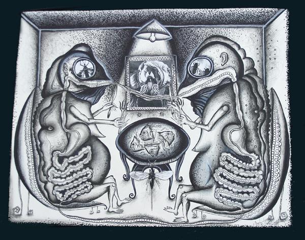 Dinner Scene II by oesoph