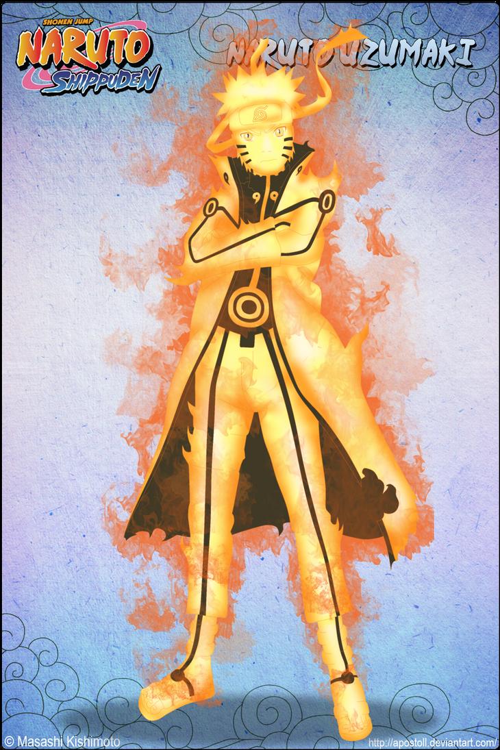 Naruto 9-Tails Chakra Mode by Apostoll