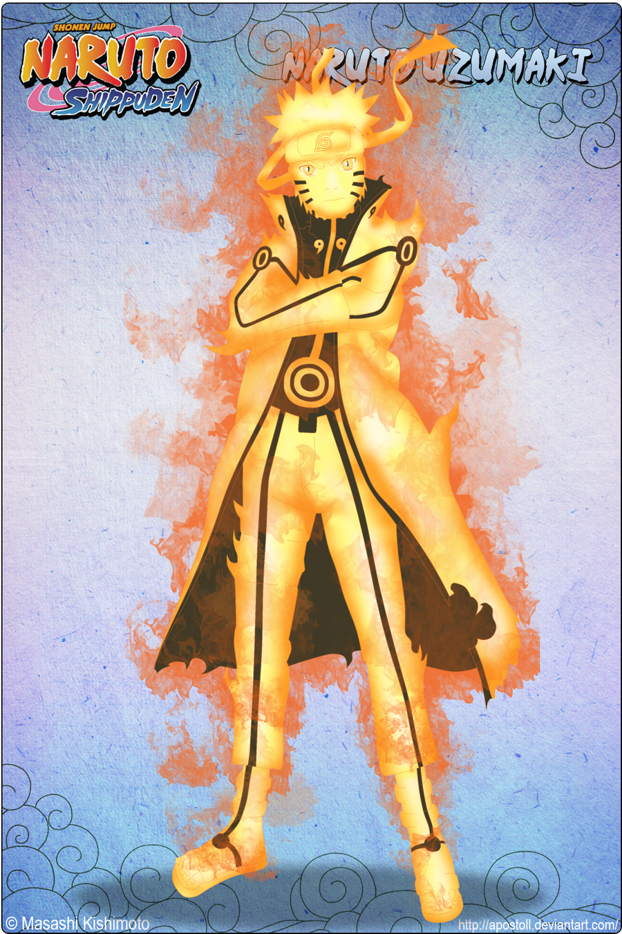 naruto kyuubi cloak mode - photo #12