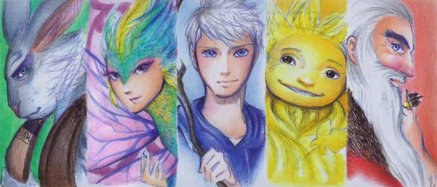 Rise of The Guardians by Kapaychan