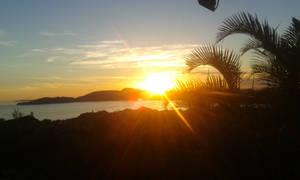The sunset in Buzios-Brazil