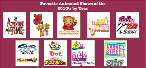 My Favorite Animated Shows of the 2010s (Edited) by TheVideoGameTeen
