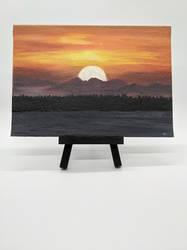 Sunsetandlake