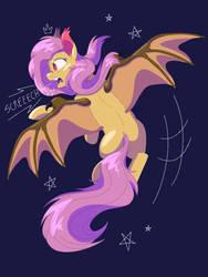 Flutterbat [pixel art] by GlitterStar2000