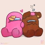 Papa Pink and Mama Bear