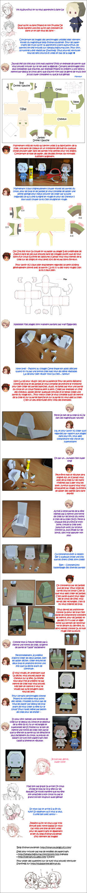Tutoriel Papercraft with Bad Friends Trio by seles66