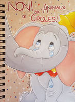 Dumbo Prismacolors by seles66