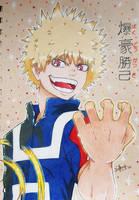 <b>Katsuki Bakugou Prismacolors</b><br><i>seles66</i>