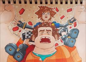 <b>Sora And Ralph Prismacolors</b><br><i>seles66</i>
