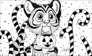 <b>Inktober 2018 - 15 Tiger</b><br><i>seles66</i>