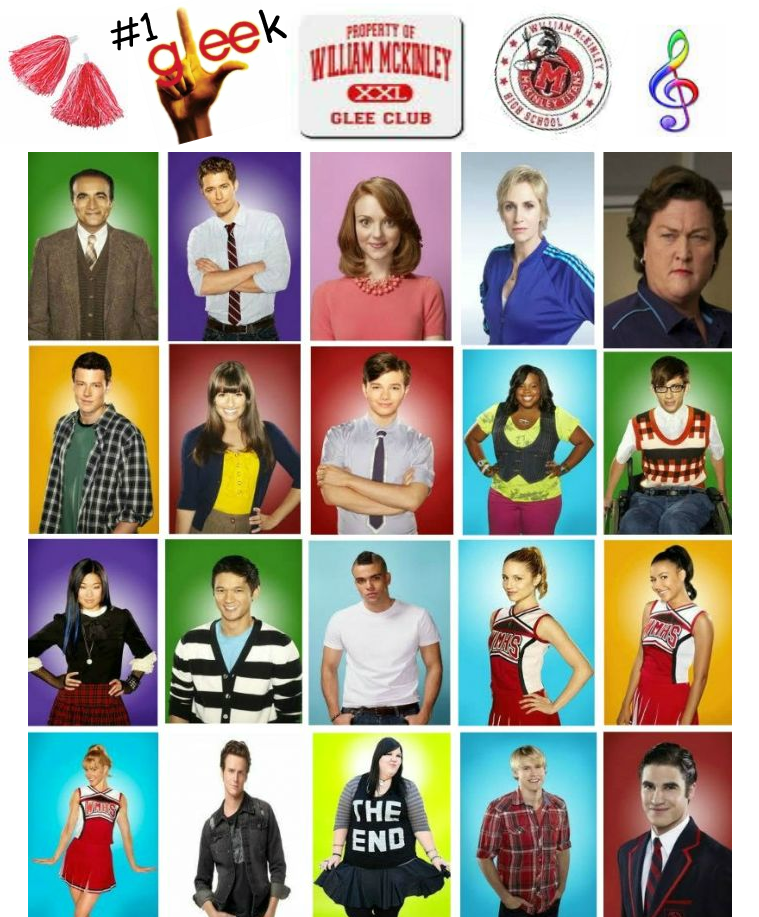 Season 2 Glee Glee Characters Season 2 by