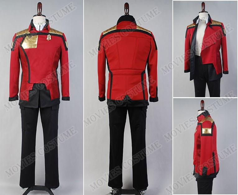 Star Trek Cosplay Nemesis Admiral/'s Costume Jacket Uniform High Quality  HH.102